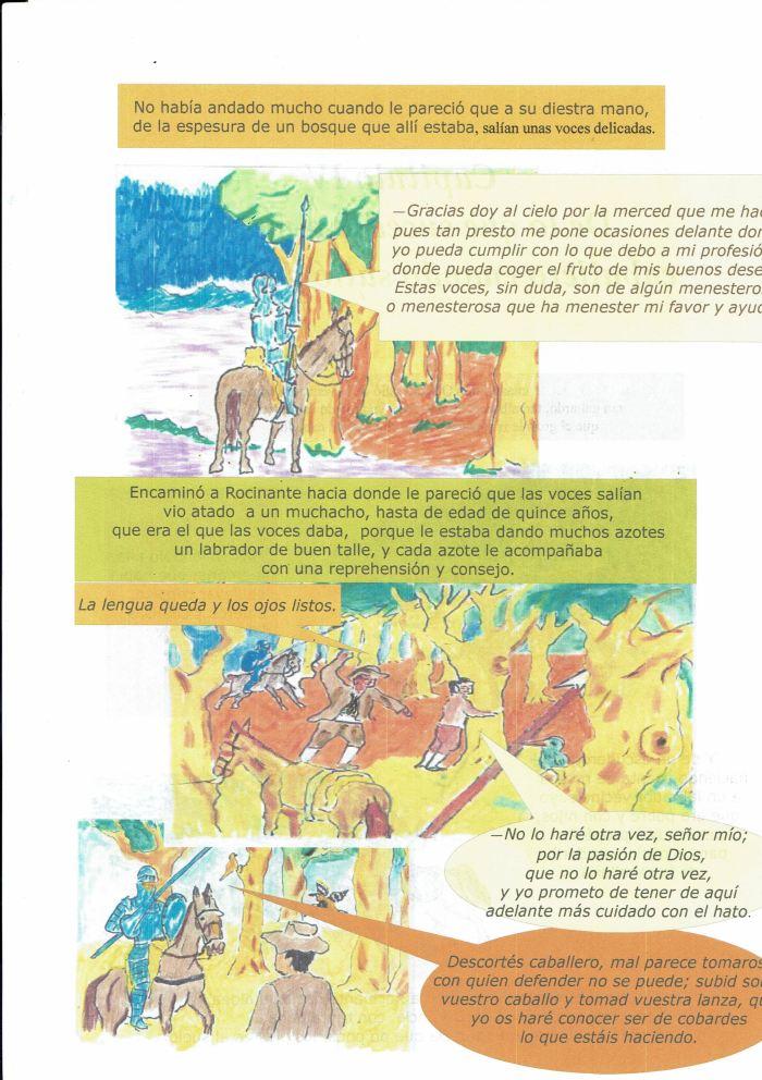D. Quijote capìtulo 4-2